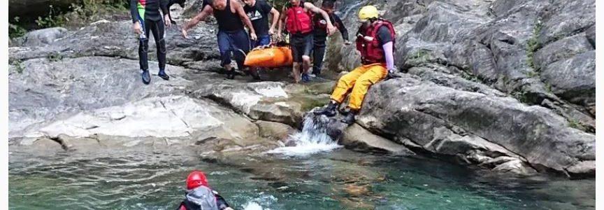 遇到落石怎麼辦》溯溪活動的風險與溪流判斷