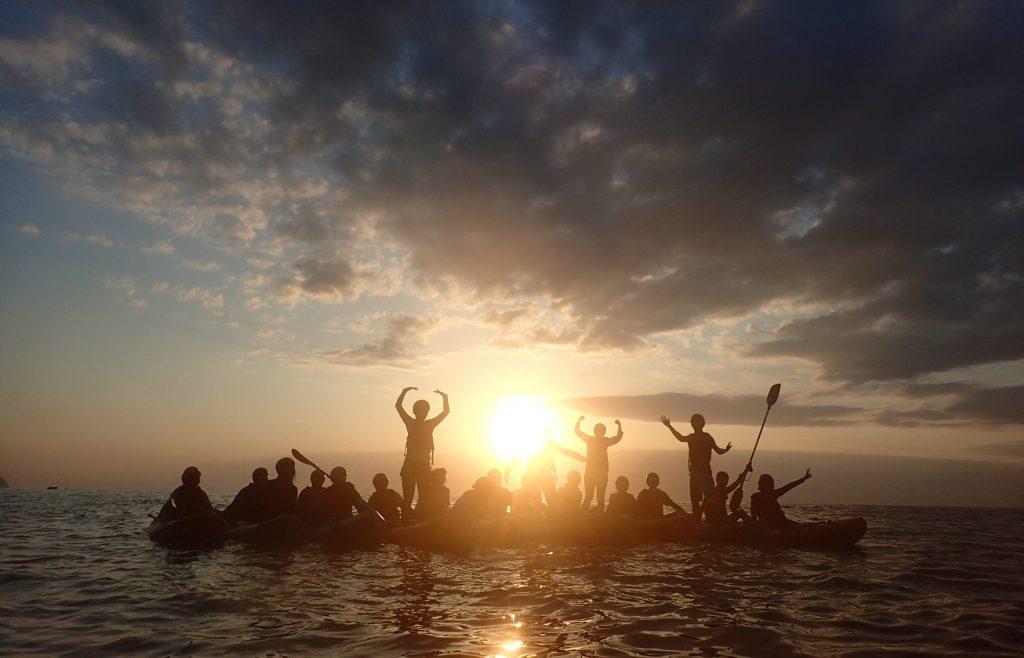 多數無動力的水域活動如獨木舟、SUP、衝浪和潛水,幾乎都是不會造成污染的水域活動,且破壞生態的機率也極低,非常適合在台灣發展